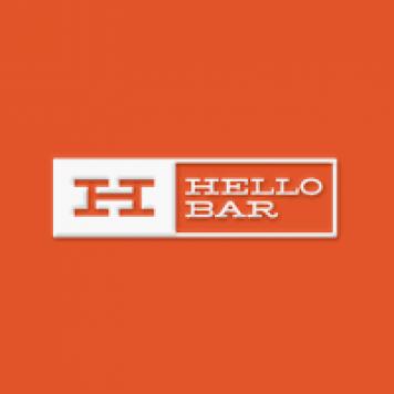 Hello Bar code promo