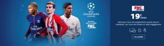 Code Promo RMC Sport avec SFR : 9€ par mois pour la ligue des champions